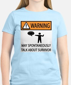 Spontaneously Talk Survivor T-Shirt