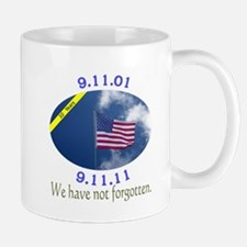 9-11 We Have Not Forgotten Mug