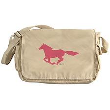 HORSE (Pink) Messenger Bag