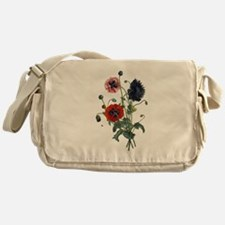 Poppy Art Messenger Bag