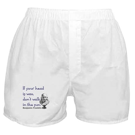 Wax Head Boxer Shorts