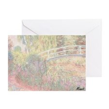 MONET Water Lily Pond: Irises Greeting Cards 20 Pk