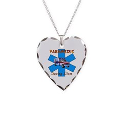 Paramedics Saving Lives Necklace