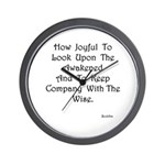 Look Upon The Awakened Gifts Wall Clock