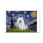 Starry-Am. Eskimo Dog Car Magnet 20 x 12
