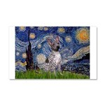Starry-AmericanHairless T Car Magnet 20 x 12