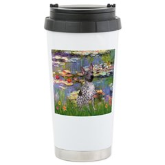 Lilies2-Am.Hairless T Travel Mug