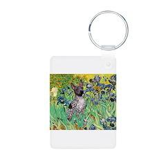 Irises-Am.Hairless T Keychains