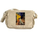 Cafe-AnatolianShep2 Messenger Bag