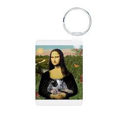 Mona's Aussie Cattle Pup Keychains