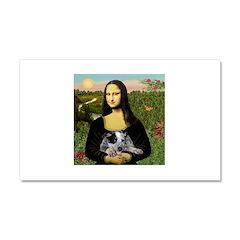 Mona's Aussie Cattle Pup Car Magnet 20 x 12