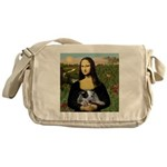 Mona's Aussie Cattle Pup Messenger Bag
