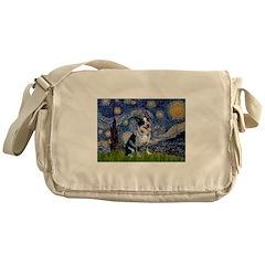 Starry-AussieCattlePup2 Messenger Bag