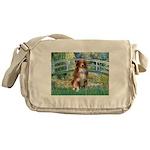 Bridge-Aussie Shep #4 Messenger Bag