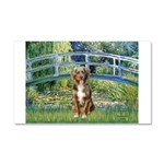 Bridge-Aussie Shep (#5) Car Magnet 20 x 12