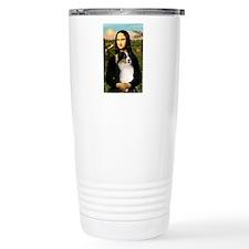 MonaLisa-Tri Aussie Shep2 Travel Mug
