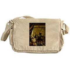 The Artist-AussieShep1 Messenger Bag