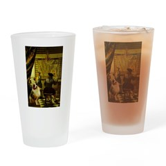 The Artist-AussieShep1 Drinking Glass
