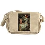 Ophelia-Aussie Terrier Messenger Bag
