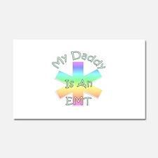 My Daddy EMT Car Magnet 20 x 12