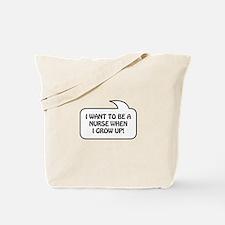 Nurse Bubble 1 Tote Bag