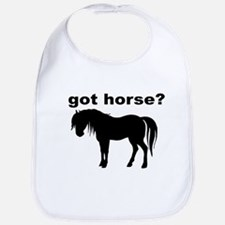 got horse ? Bib