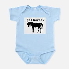 got horse ? Infant Bodysuit