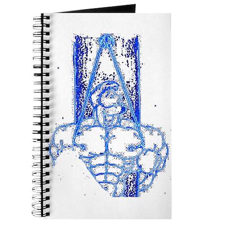 TREE BOUND_DARK BLUE ON BLK Journal