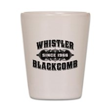 Whistler Blackcomb Old Black Shot Glass