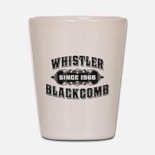 Whistler Blackcomb Old Black Shot Glass