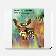 Deer Haiku Mousepad