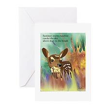 Deer Haiku Greeting Cards (Pk of 10)