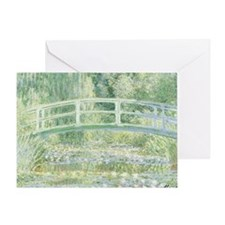 MONET Water Lily Pond 1897 Greeting Card