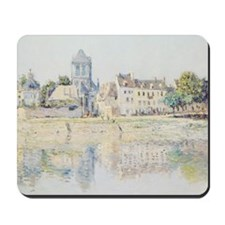 BY THE RIVER AT VERNON Mousepad