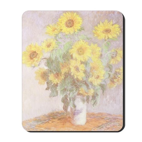 BOUQUET OF SUNFLOWERS Mousepad