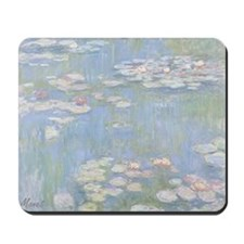 MONET Water Lilies 1916 Mousepad