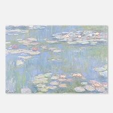 MONET Water Lilies 1916 Postcards (8 Pk)