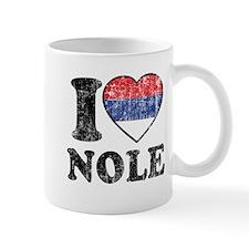 I Heart Nole Grunge Mug