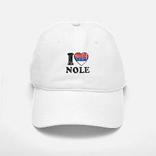 I Heart Nole Grunge Baseball Baseball Cap