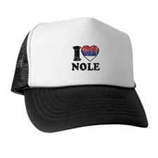 I Heart Nole Grunge Cap