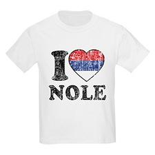 I Heart Nole Grunge T-Shirt