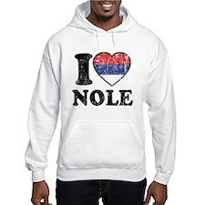 I Heart Nole Grunge Jumper Hoodie