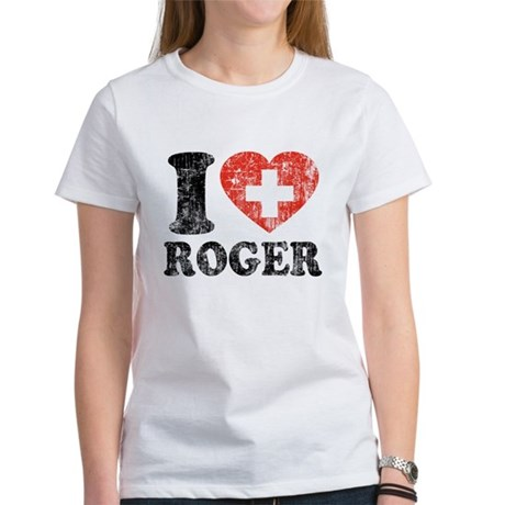 I Heart Roger Grunge Women's T-Shirt
