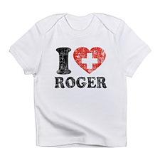 I Heart Roger Grunge Infant T-Shirt