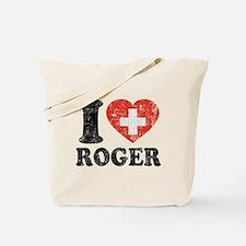 I Heart Roger Grunge Tote Bag