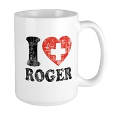 I Heart Roger Grunge Mug