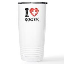 I Heart Roger Grunge Travel Coffee Mug