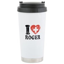 I Heart Roger Grunge Travel Mug