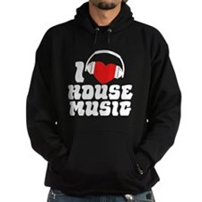 I Love House Music Hoody