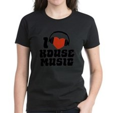 I Love House Music Tee